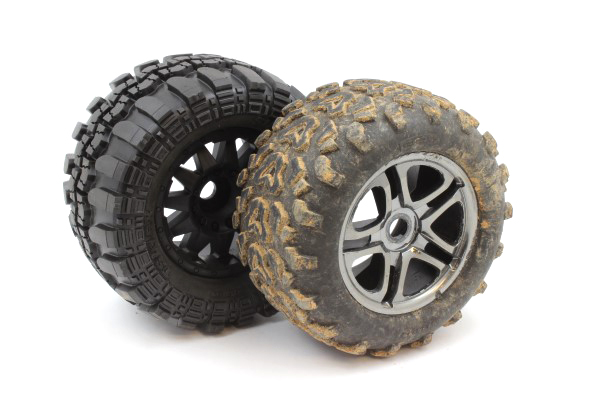 Traxxas E-Maxx Brushless Pro-Line Super Swampers