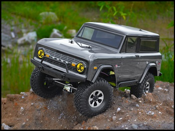 JConcepts 1974 Ford Bronco Body For Trail And Scale Vehicles