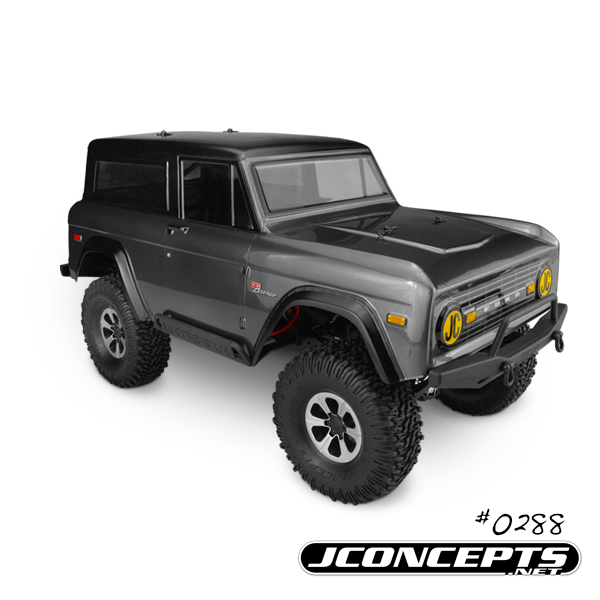 JConcepts 1974 Ford Bronco Body For Trail And Scale Vehicles (2)