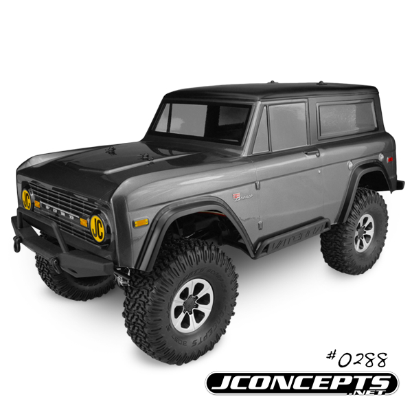 JConcepts 1974 Ford Bronco Body For Trail And Scale Vehicles (4)