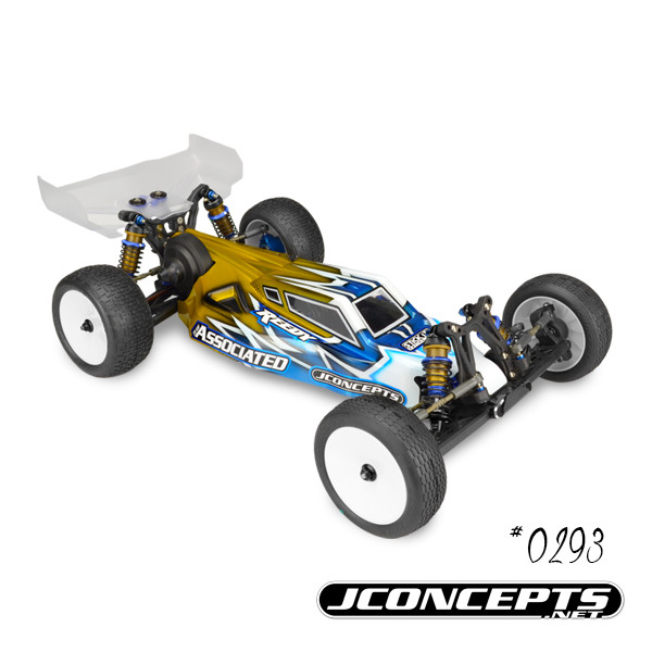 JConcepts S2 B5M Body With 6.5 Finnisher Rear Wing (2)
