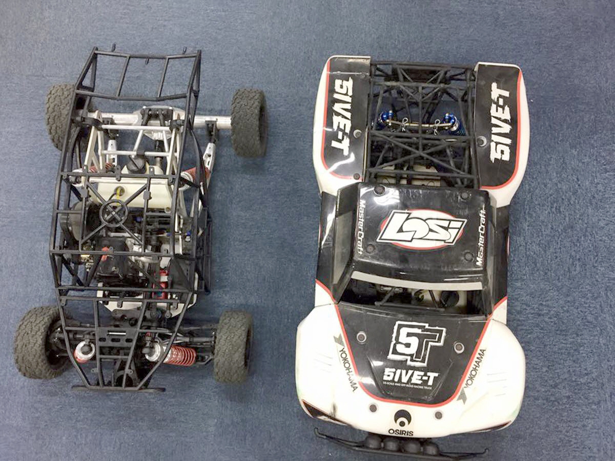 Kraken vs Losi 5IVE T 2