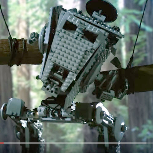 Not RC, But Watching Star Wars Legos Get Smashed In Slow-Mo Is Pretty Awesome [VIDEO]
