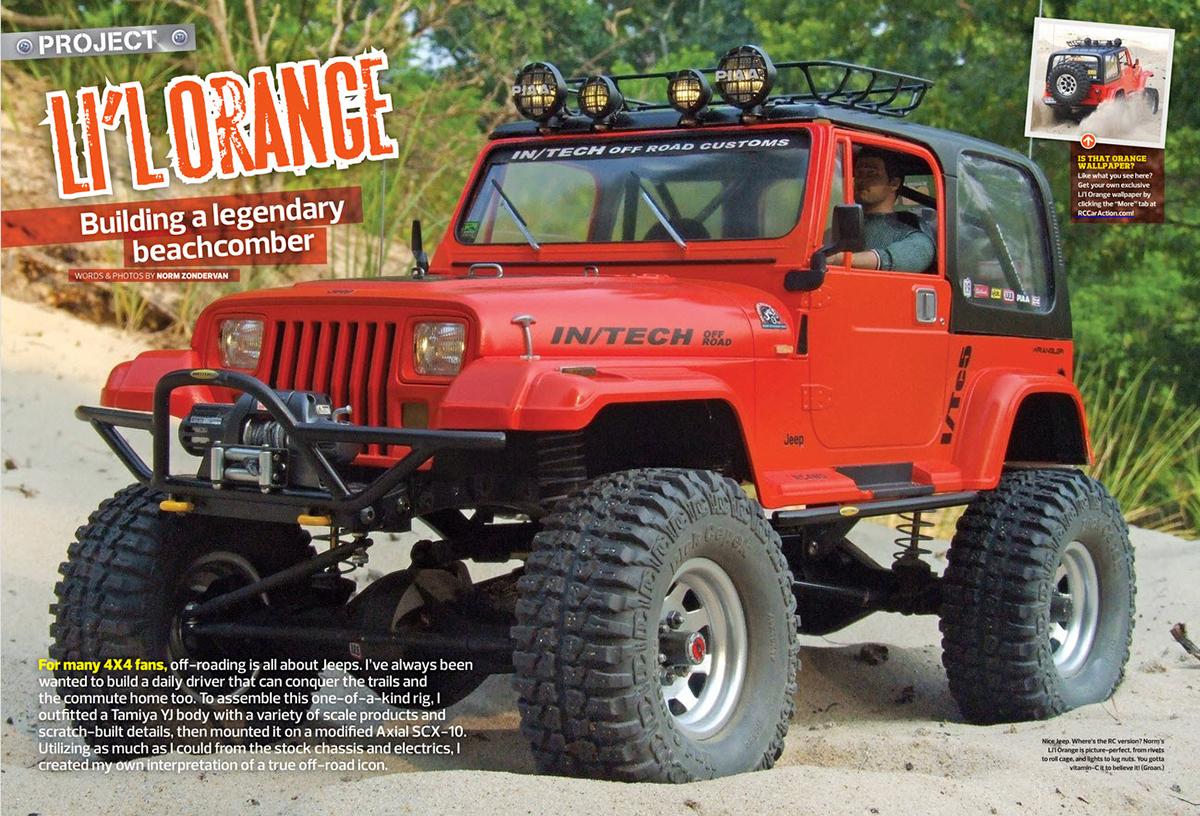 Lil Orange SCX10 1