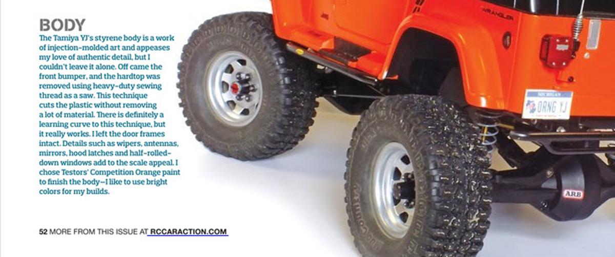 Lil Orange SCX10 3