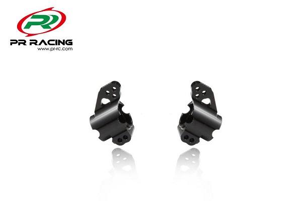 PR Racing CNC Machined Aluminum Rear Hubs For The SB401 4w