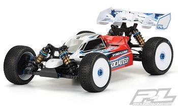 Pro-Line Predator Clear Body For The Team Associated RC8B3E