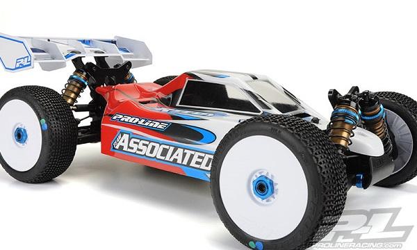 Pro-Line Predator Clear Body For The Team Associated RC8B3E (4)