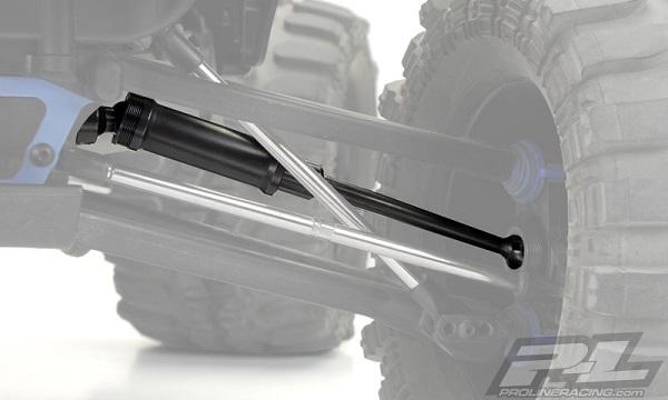 Pro-Spline Front Or Rear HD Axles For The Traxxas E-REVO & Summit (3)