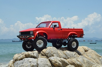 RC4WD Trail Finder 2 RTR With Mojave II Body Set