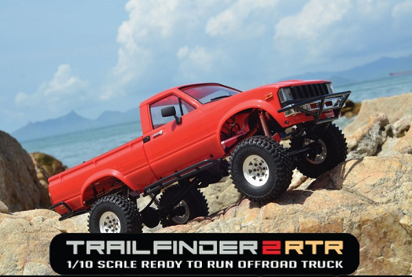 RC4WD Trail Finder 2 RTR With Mojave II Body Set (4)