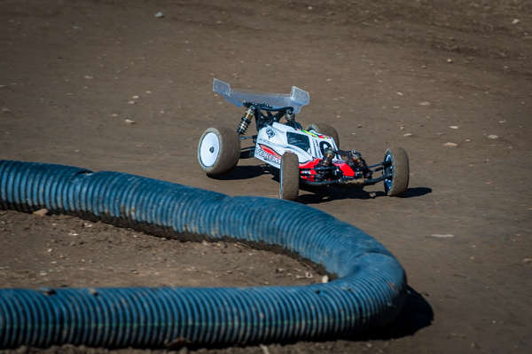 Yokomo's Carson Wernimont is running the YZ-2 and YZ-4, both vehicles developed specifically for use on AstroTurf.