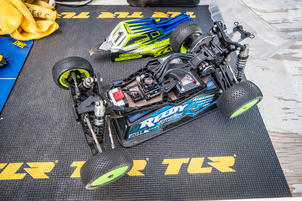 Kevon Motter has had little time with the new 22 3.0, but is already showing what it i capable of.