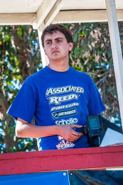 Team Associated's Jake Mayo has been turning a lot of heads lately with his developing skills and bested some of the fastest at the event.
