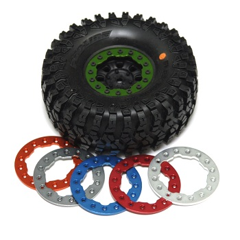 ST Racing Concepts Vaterra Ascender Diff Cover And Pro-Line Beadlock Rings