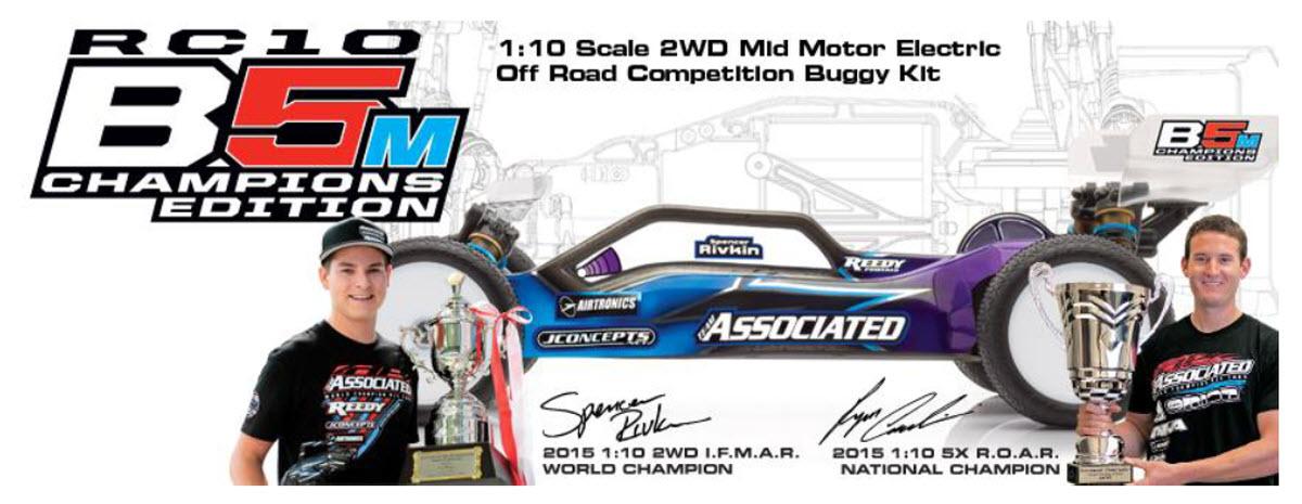 Team Associated RC10 B5M Champions Edition 3