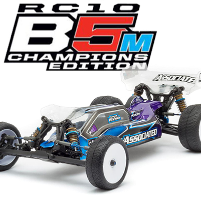 Team Associated Celebrates IFMAR and ROAR Titles With Champions Edition B5M