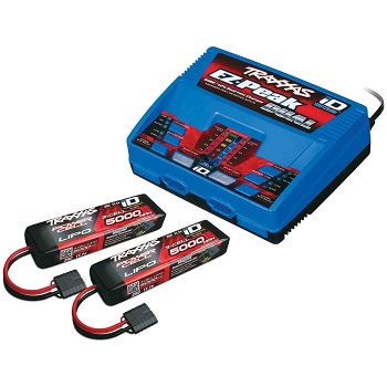 The iD Battery And Charger Completer Pack Will Get Your Traxxas Ride Fired Up Fast