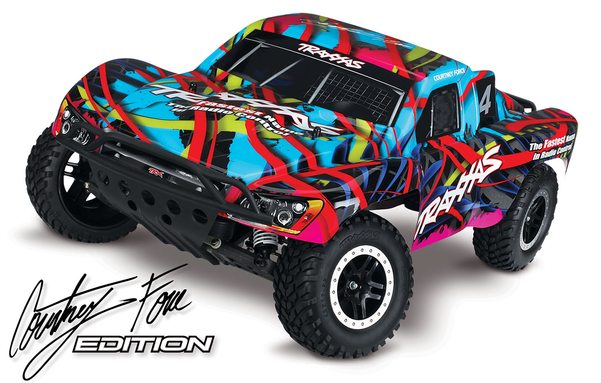 traxxas slash 4x4 videos with Traxxas Announces Courtney Force Pink Edition Models on Introducing Ellymay My 1986 Ford F150 Xl 5 0l as well amrracingrc together with B002U5BPNY besides Trx 4 furthermore 06 Lego Racers Ferrari F1.