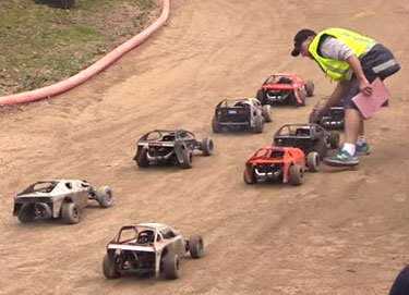 Sign Us Up for Quarter-Scale Dirt Oval, Please [VIDEO]