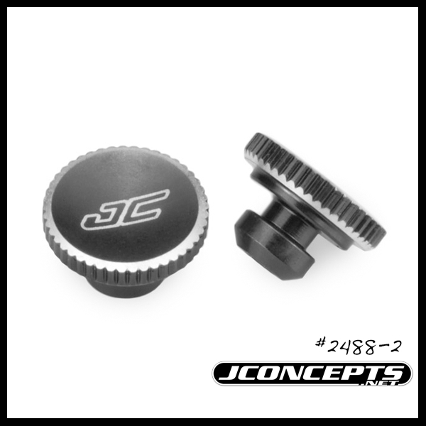JConcepts Battery Hold Down Thumb Wheel For The Team Associated B5M, T5M, And SC5M (2)