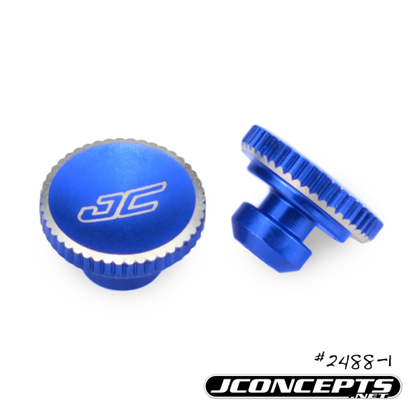 JConcepts Battery Hold Down Thumb Wheel For The Team Associated B5M, T5M, And SC5M (3)