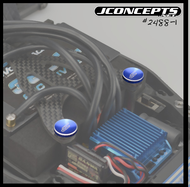 JConcepts Battery Hold Down Thumb Wheel For The Team Associated B5M, T5M, And SC5M (4)