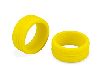 JConcepts Dirt Wheel Yellow Foam Grip