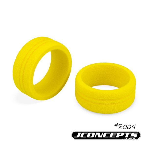 JConcepts Dirt Wheel Yellow Foam Grip (2)
