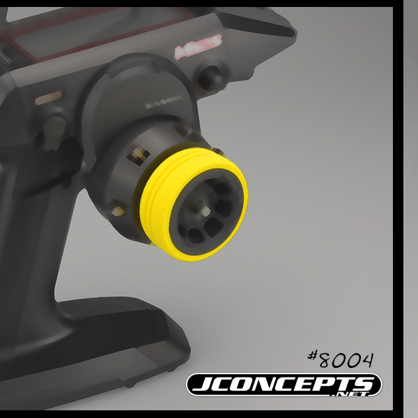 JConcepts Dirt Wheel Yellow Foam Grip (3)