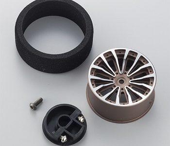 KO PROPO Optional Black And Gun Metal Aluminum Steering Wheels