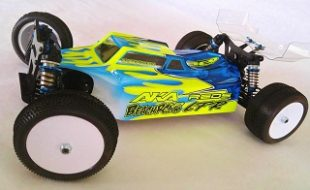 Leadfinger Racing Assassin Clear Body For The Team Associated B44.3