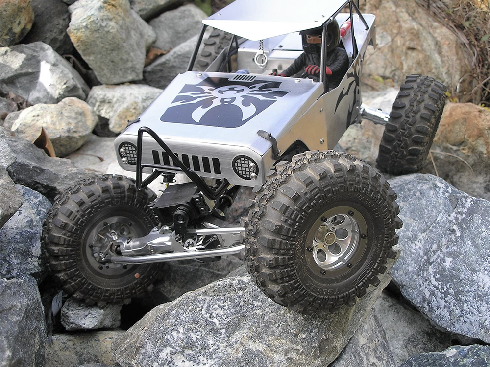 Custom Axial Wraith Crawler By Ken Takemoto Reader S Ride