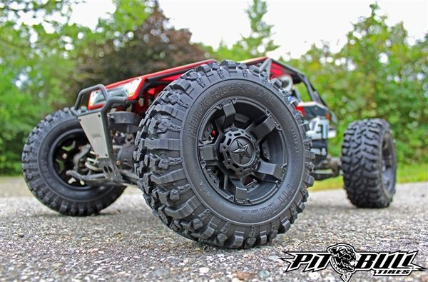 Pit Bull Rock Beast XL 3.8 Scale RC Tires With Foam (5)