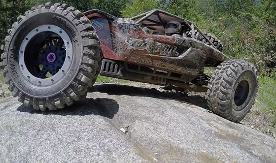 Pit Bull Rock Beast XL 3.8 Scale RC Tires With Foam (6)