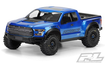Pro-Line 2017 Ford F-150 Raptor True Scale Clear SC Body