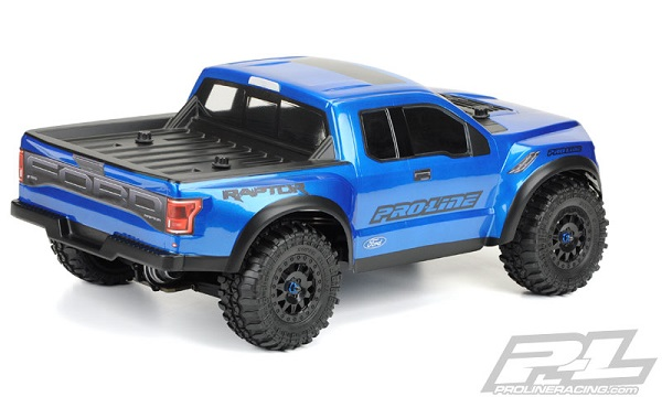 Pro-Line 2017 Ford F-150 Raptor True Scale Clear SC Body (3)
