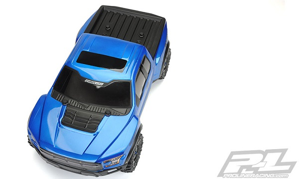 Pro-Line 2017 Ford F-150 Raptor True Scale Clear SC Body (7)