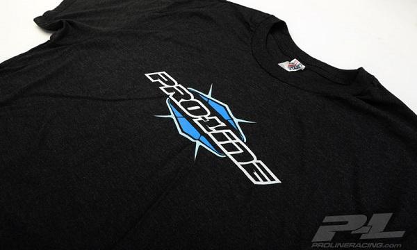 Pro-Line Bolt Black Zip-Up Hoodie, Bolt Blue T-Shirt, And Script Black T-Shirt (5)