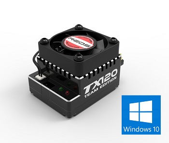 REDS Racing Releases Windows 10 Software For The TX120 ESC