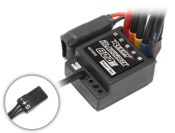 Reedy Blackbox 800Z Zero-Timing Sensored Brushless Competition ESC (1)