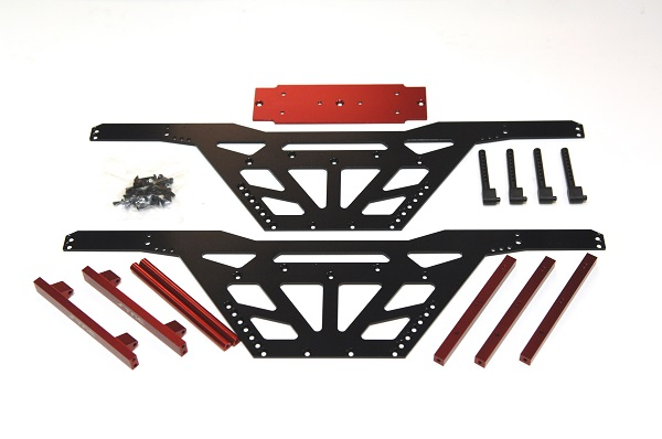 ST Racing Concepts CNC Machined Aluminum Monster Truck Racing Chassis Kit For The Axial Wraith (1)