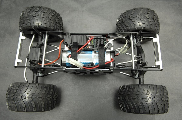 ST Racing Concepts CNC Machined Aluminum Monster Truck Racing Chassis Kit For The Axial Wraith (4)