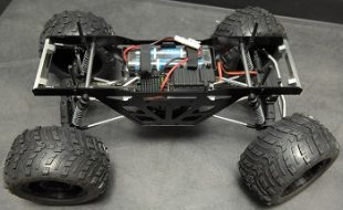 ST Racing Concepts Izilla Monster Truck Racing Chassis Kit For The Axial Wraith