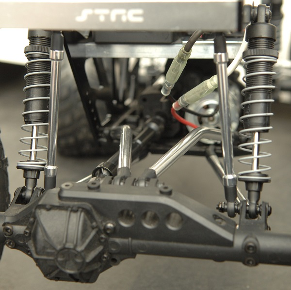 ST Racing Concepts Izilla Monster Truck Racing Chassis Kit For The Axial Wraith (4)