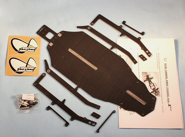 X Factory Infinity Chassis Kit For The Team Associated SC5M (1)
