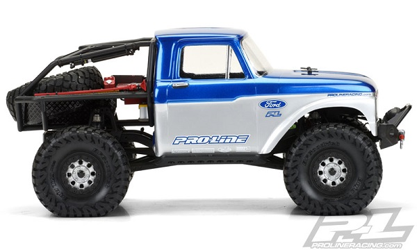 1966 Ford F-100 Clear Body for SCX10 Trail Honch (2)