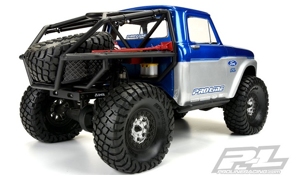 1966 Ford F-100 Clear Body for SCX10 Trail Honch (3)