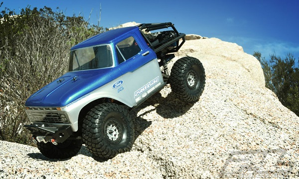 1966 Ford F-100 Clear Body for SCX10 Trail Honch (6)