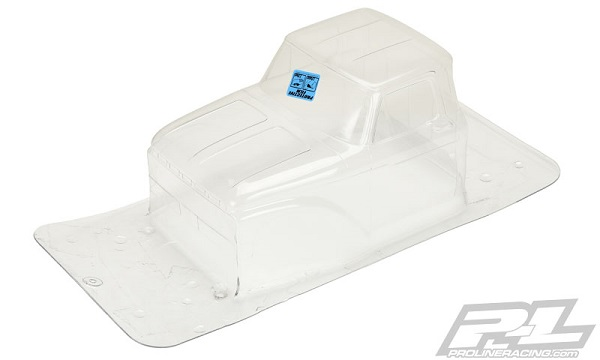 1966 Ford F-100 Clear Body for SCX10 Trail Honch (7)